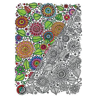 Adult Coloring Canvas 16