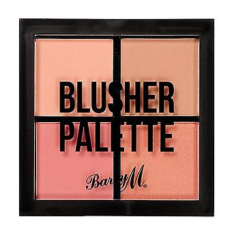 Barry M Barry M Blusher cuádruple paleta