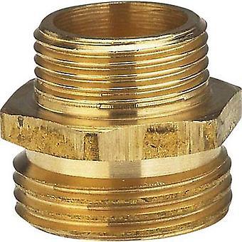 Brass Reducer nipple 26.44 mm (3/4) OT, 20.96 mm (1/2) OT