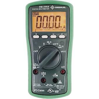 Greenlee DM-200A Handheld multimeter Digital CAT II 1000 V, CAT III 600 V Display (counts): 6000