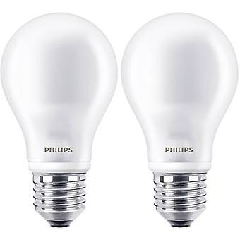 Philips Lighting LED EEC A++ (A++ - E) E27 Arbitrary 7 W = 60 W Warm white (Ø x L) 60 mm x 110 mm Filament 2 pc(s)