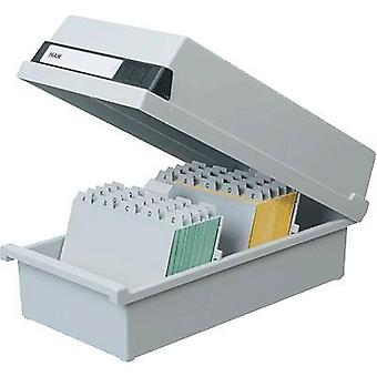 HAN Card index box 954-11 Light grey 954-11 No. of cards (max.): 1.300 cards A4 portrait