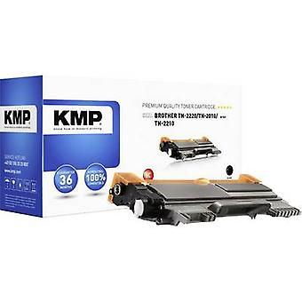 KMP Toner cartridge replaced Brother TN-2010, TN-2210, TN-2220, TN2010, TN2210, TN2220 Compatible Black 2600 pages B-T47