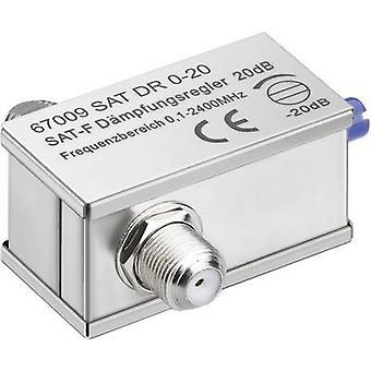 Atenuador ajustable Goobay SAT DG 0-20