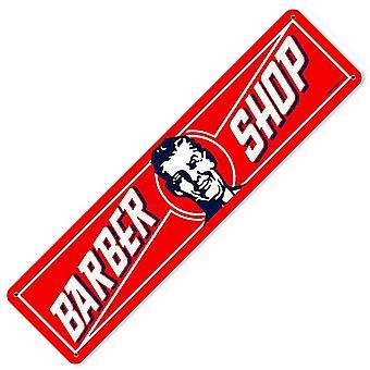 Barber Shop Metall unterzeichnen 200 X 50 Mm