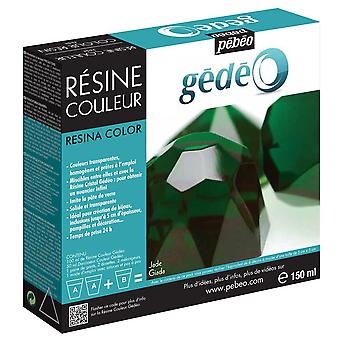 Pebeo Gedeo Colour Resin 150ml (Jade)