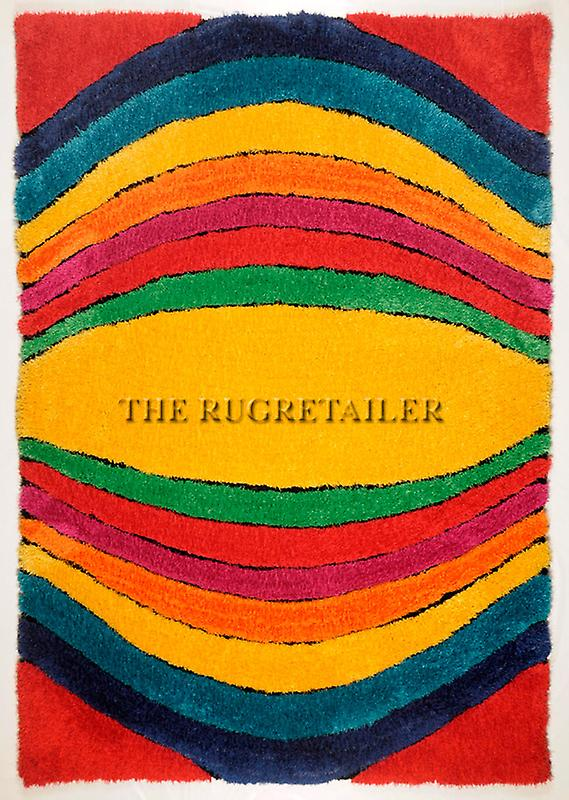 Rugs - Tom Tailor Soft Shaggy - Funky Multi