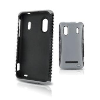 5 Pack -Body Glove Protective Cover for Samsung Intercept - Chrome/ Black