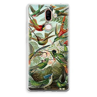 Nokia 7 Plus Transparent Case - Haeckel Trochilidae