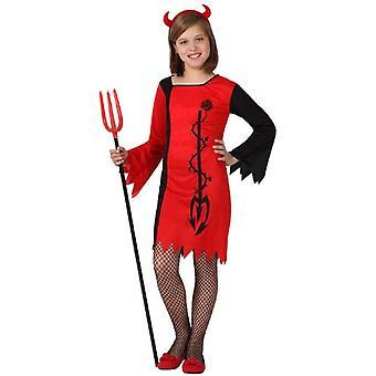 Children's costumes  Devil girl costume