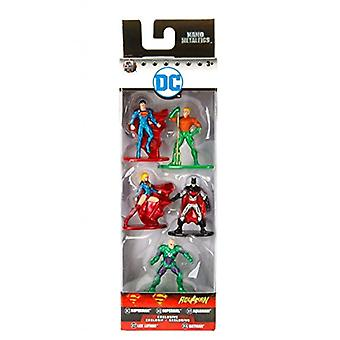JADA - Nano Metalfigs DC Comics 5 Pack