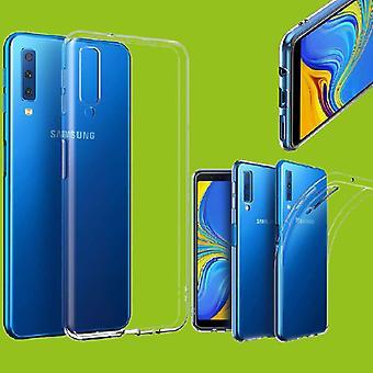 Für Samsung Galaxy A9 A920F 2018 Silikoncase Transparent Tasche Hülle Cover Neu