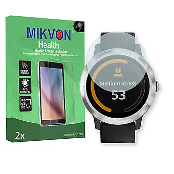 Garmin vivoactive 3 Screen Protector - Mikvon Health (Retail Package with accessories)