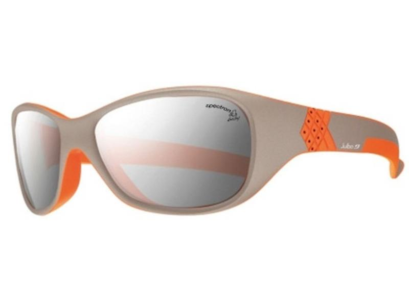 Julbo Solan Junior Sunglasses (Grey/Orange Frame Spectron 4 Grey Lens)
