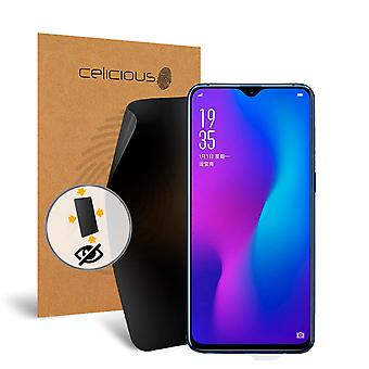 Celicious Privacy Plus 4-Way Anti-Spy Filter Screen Protector Film Compatible with OPPO R17