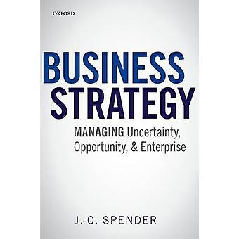 فرصة تجارية استراتيجية-إدارة عدم اليقين--والمءسسه