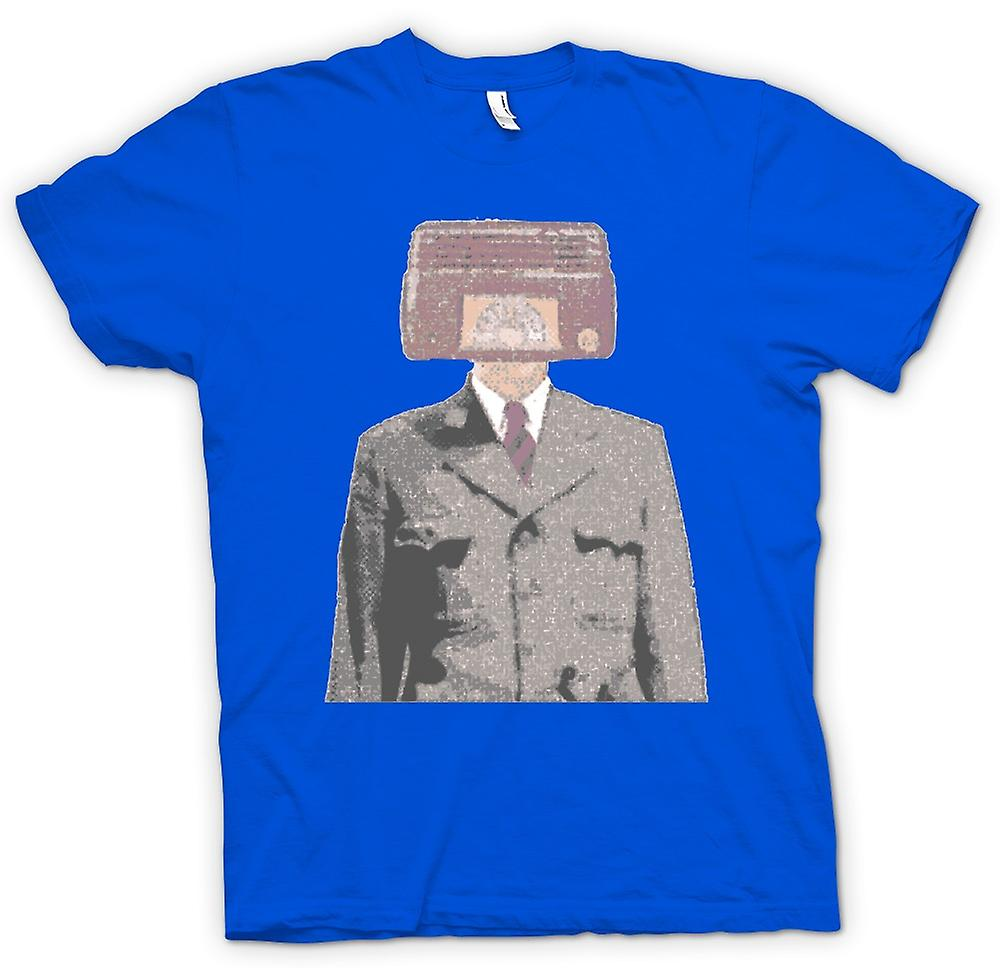 Hommes T-shirt - Radiohead - Pop Art - Conception