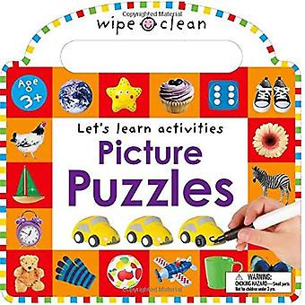 Wipe Clean: Picture Puzzles