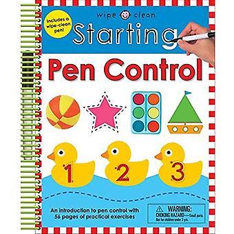 Starting Pen Control (Wipe Clean Workbooks)