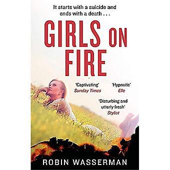 Meisjes in brand