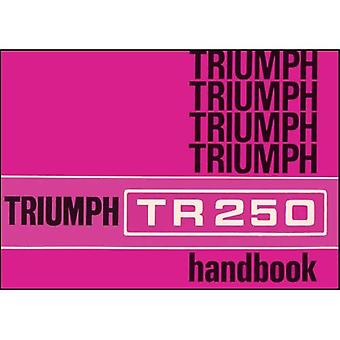 Triumph TR250 Owners Handbook (Part No. 545033)