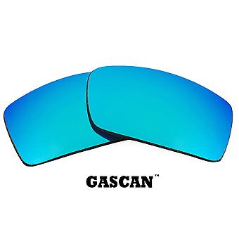 GASCAN Replacement Lenses Blue Mirror by SEEK fits OAKLEY Sunglasses
