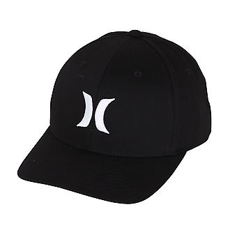 Hurley Men's Flexfit Cap ~ Dri-Fit One & Only black white