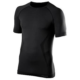 Falke-Maximum warmen Komfort Kurzarm Shirt - schwarz