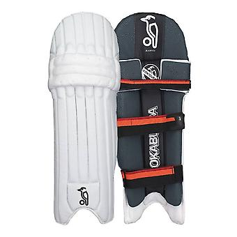Kookaburra 2018 Blaze 900 Cricket Batting Pads Leg Guards White/Black