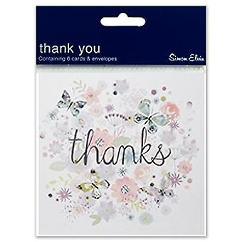 Simon Elvin Open Thank You Display Pack (Pack Of 6)