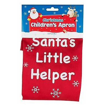 Bambini/bambini Natale grembiule - Santas Little Helper 6 Pack - (SAPN)