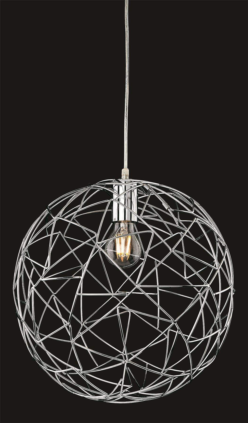 Firstlumière - 1 lumière Ceiling pendentif Chrome - 7638CH