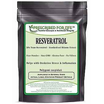 Resveratrol - 50% Trans-Resveratrol - Natural Rhizome Extract Powder (Polygoni cuspidatium)