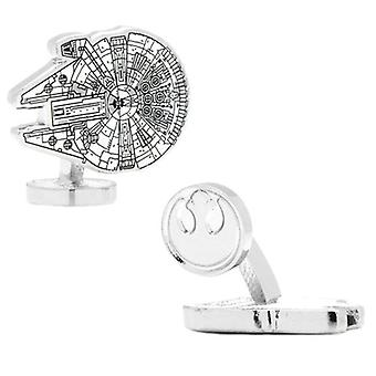 Star Wars Millennium Falcon Blueprint Cufflinks