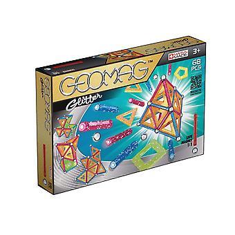 Geomag Glitter construcción magnética conjunto 68 piezas multi-color