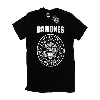 The Ramones Kids T Shirt Black Presidential Seal logo Official