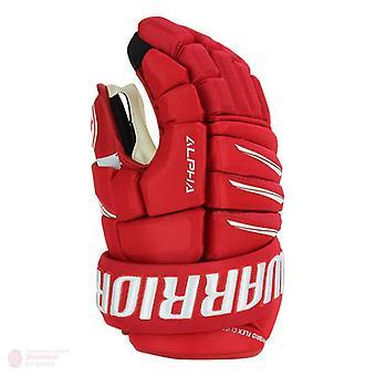 Warrior alpha QX Pro handschoenen Senior-rood