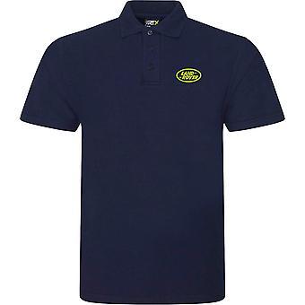 Landrover Landy Offorad 4WD Embroidered Logo - Green - Polo Shirt