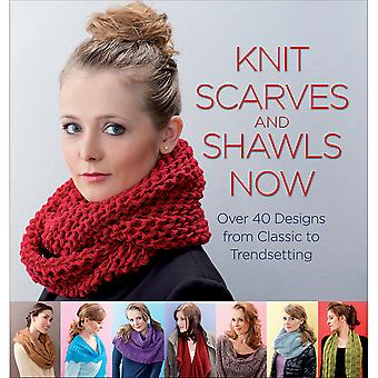 Trafalgar Square Books-Knit Scarves And Shawls Now TRA-67111