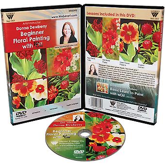 Donna Dewberry Dvd Floral Beginner Painting With Oil 3602Dvd