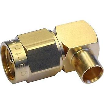 SMA connector Plug, right angle 50 Ω Telegärtner J01150A0151
