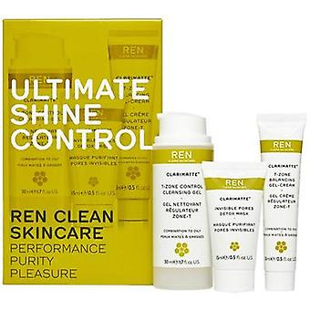 Ren Ultimate Shine Control Clarimatte Kit