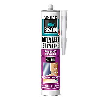 Bison Butyleenkit 310 Ml Wit