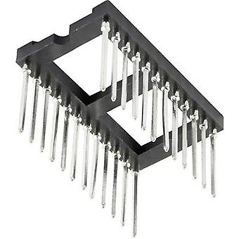 IC socket 15.24 mm Number of pins: 28 1 pc(s)