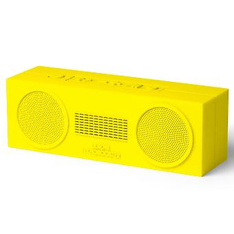 Yellow Lexon Tykho Booster Bluetooth Speaker