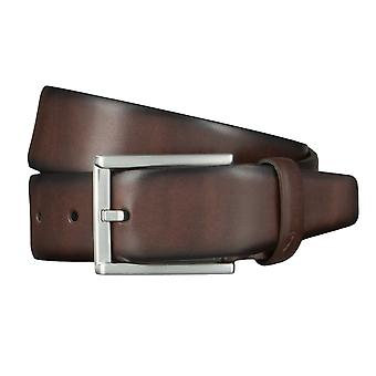 ALBERTO new classic belts men's belts leather belt Brown 4608