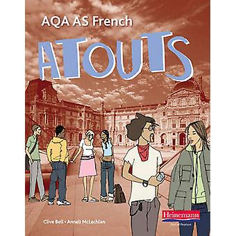 Atouts AQA AS French 9780435396015 by Bell