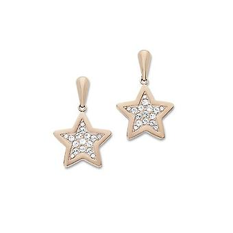 s.Oliver jewel ladies earrings rose gold SOAKT/148-484404