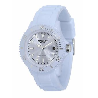 Candy Time by Madison N.Y. Uhr Unisex U4167-25-2 pastellblau