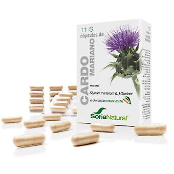 Soria Natural Capsules 11 S - Milk Thistle (Diététique)